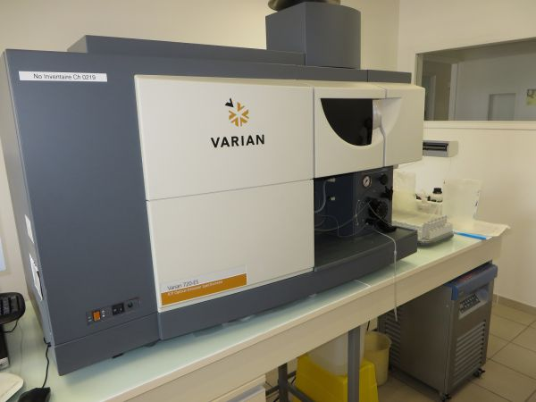 ICP VARIAN 720 OES + Autosampler + chiller