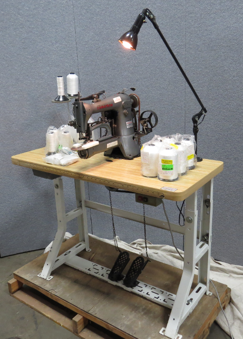 Used Camatron Sewing Machine With Table And Spectra Thread For Sale Mesmerizing Camatron Sewing Machine Inc